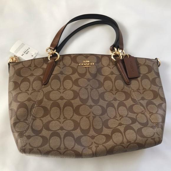 59b549918238 ... get nwt coach small kelsey satchel handbag a31ec bddfd